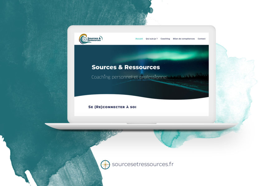 Sources & Ressources – Site vitrine